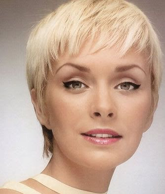 short hair cuts for older women. very short hairstyles pictures
