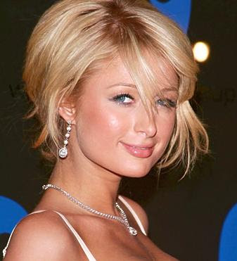 Long bangs hairstyle is modern celebrity short