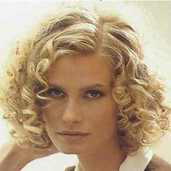 Cute Short Curly Hairstyles