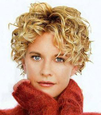 Blonde Curly Hairstyles for Short Hair 2010