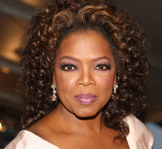 Oprah Winfrey African American Curly Hairstyle in 2010