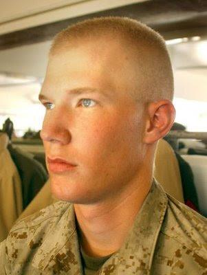 Army hair cut