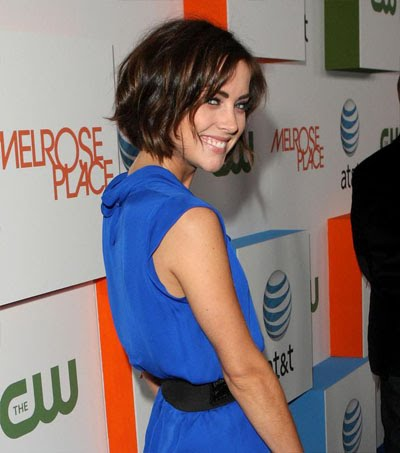 Frekuenci Hairstyles Trends Jessica Stroup Short Hair For Winter 2009