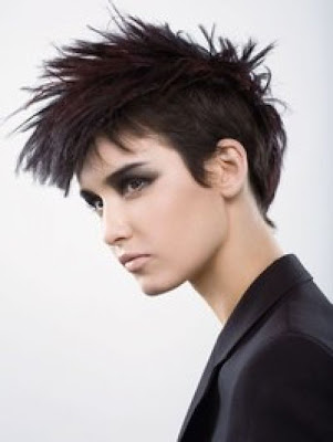 Girl's Punk Hairstyles-2. Girl's Punk Hairstyles