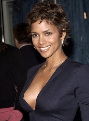 Halle Berry cute and short hairstyles New Trend