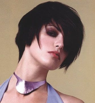 photos of short hair styles for women. Short Bangs Hairstyles for Women in winter 2009 2010