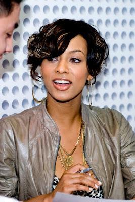 Cute african american keri hilson short hairstyles urmus Images