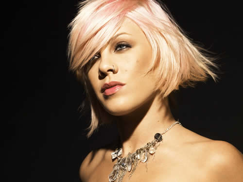 The Singer Pink Hairstyles