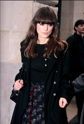 Kiera Knightly Modern Hairstyles Trends 2010
