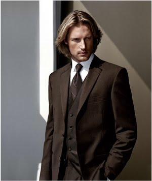 Men Formal Tuxedo Classy Haircuts for winter 2010