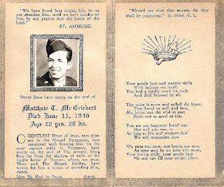Destination: Austin Family: Funeral Cards