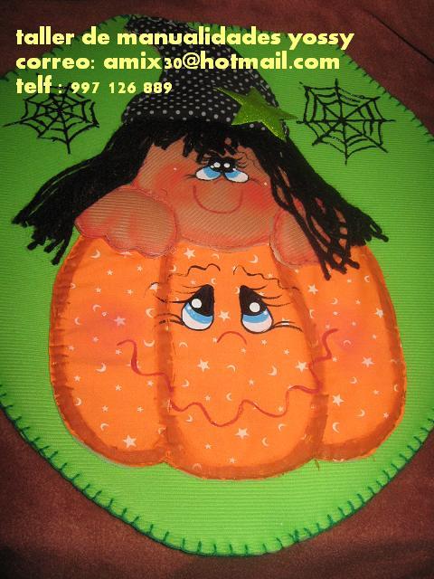 Juegos De Baño Halloween:TEJIDOS Y MANUALIDADES: juego de baño country halloween