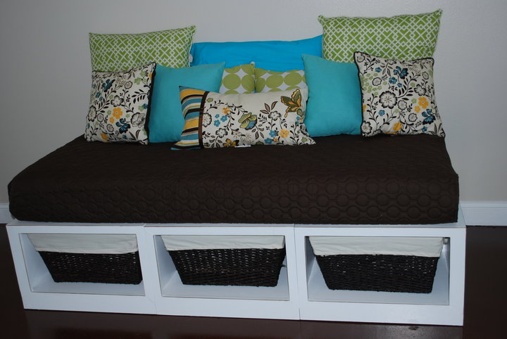 how to build a platform bed with storage drawers plans