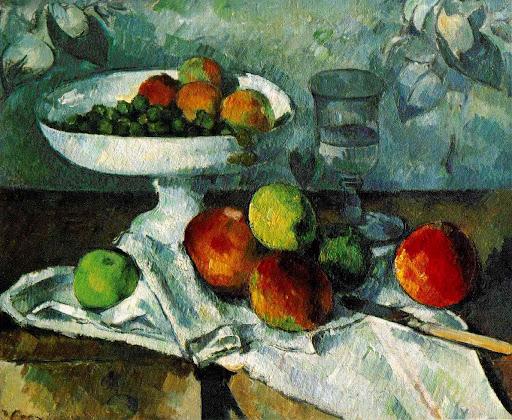 Bodegon. Cézanne.