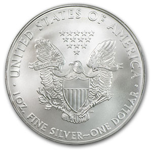 ... moneda de plata oficial del gobierno de los Estados Unidos de America