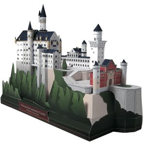 neuschwanstein e thl Canon Creative Park   Free Origami Gallery