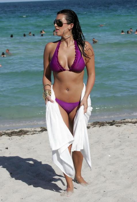 kim kardashian in bikini hot photoshoot
