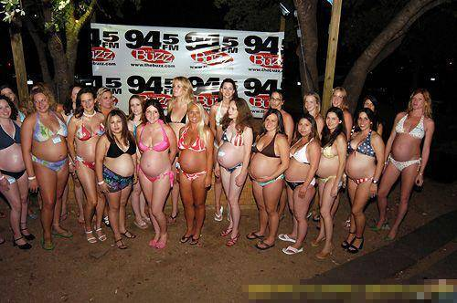 Miss Pregnant Contest (13 Pictures)