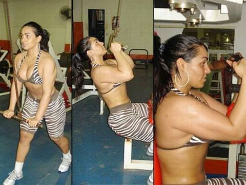 Andressa Soares's in GYM