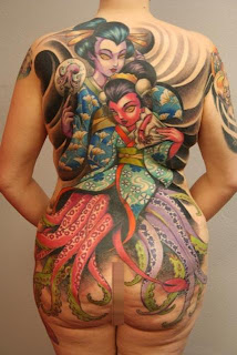 Japanese Geisha Tattoos