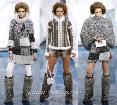 Fall 2010 Fashion on Pfw  Chanel Fall  Winter 2010  2011   Trend Fashion 2011