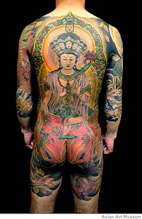Amazing Japanese Religious Tattoo Art