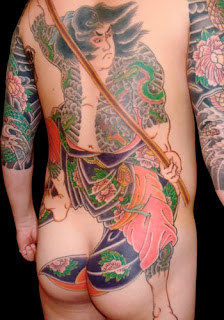 Japanese Traditional Tattoo Design