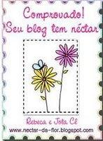 Comprovado Seu Blog Tem Nectar Award