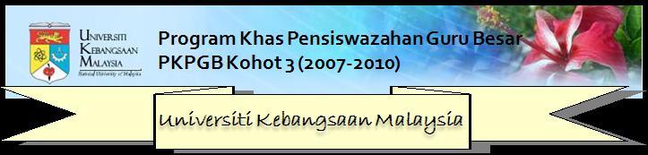 PKPG Kohort 3 UKM