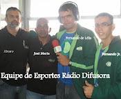 Equipe de esporte da Radio Difusora 1420 AM