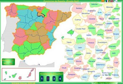 Mapas flash interactivos Mapa