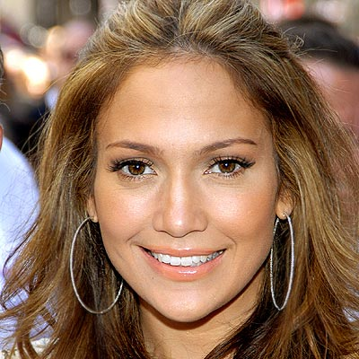 Jennifer Lopez Lipstick on Jennifer Lopez
