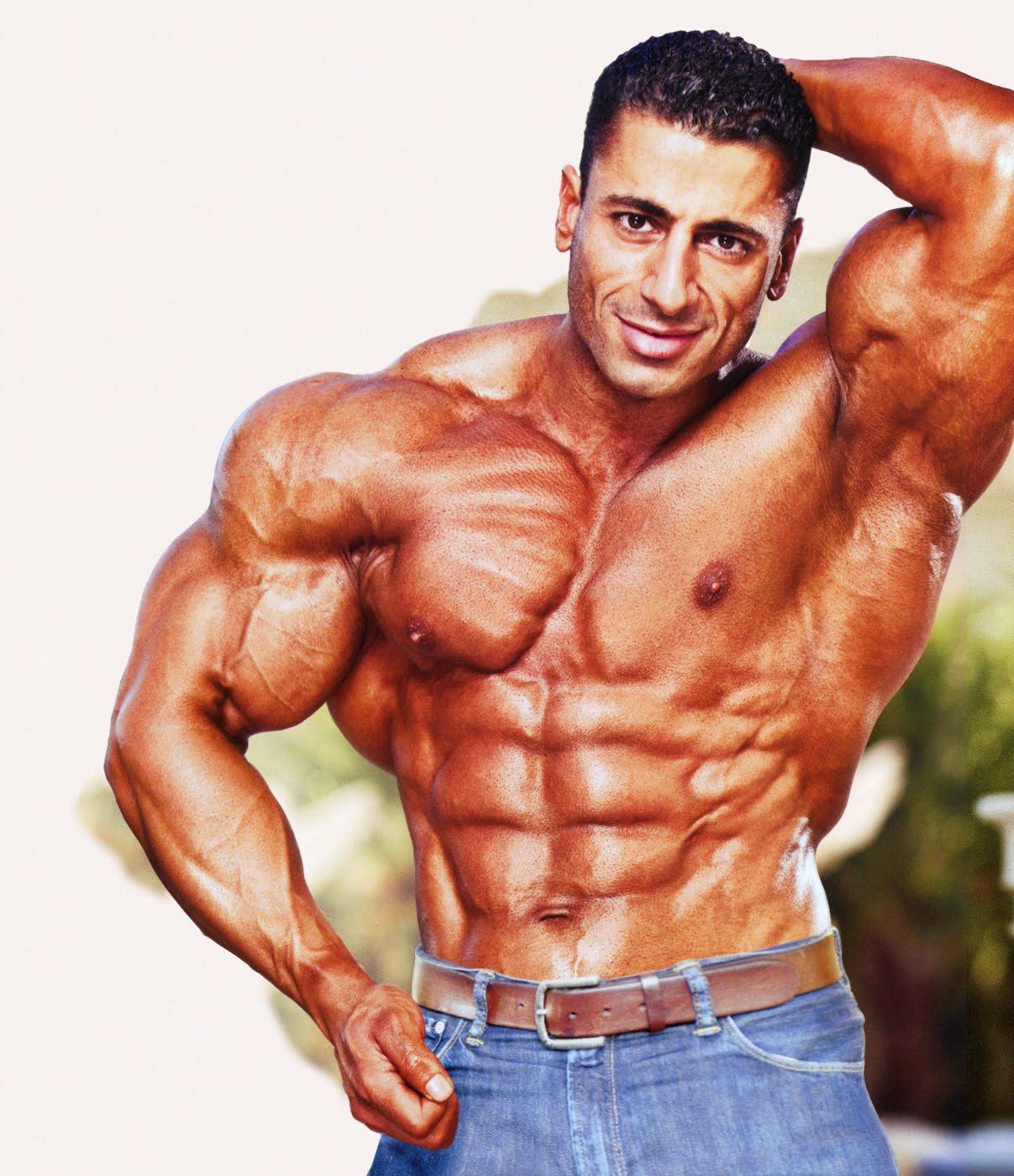 world bodybuilders pictures: super arabian muscles builder ahmad ahmad