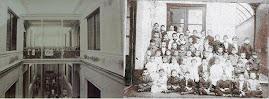 Comparación de edificios de las escuelas de Talcahuano 680, Bs. As. y Durazno y Médanos, Mont.