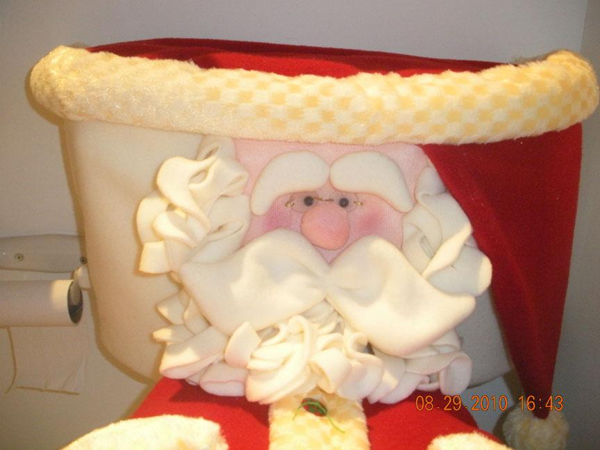 Juego De Baño Navideno Patrones:Juego De Bano Para Navidad