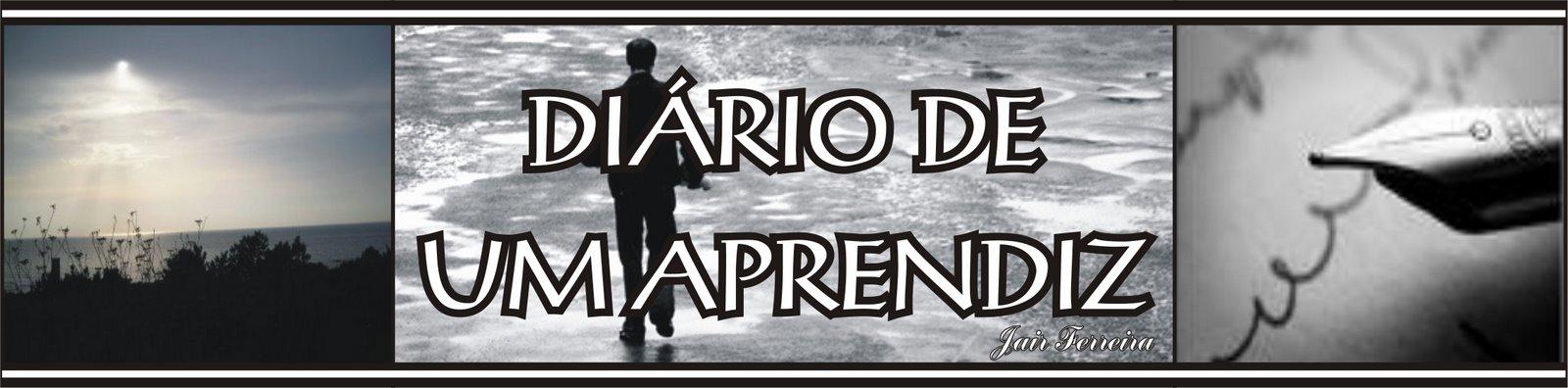 DIÁRIO DE UM APRENDIZ
