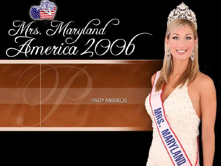 Mrs maryland 2006 patty markos for A little bit off the top salon