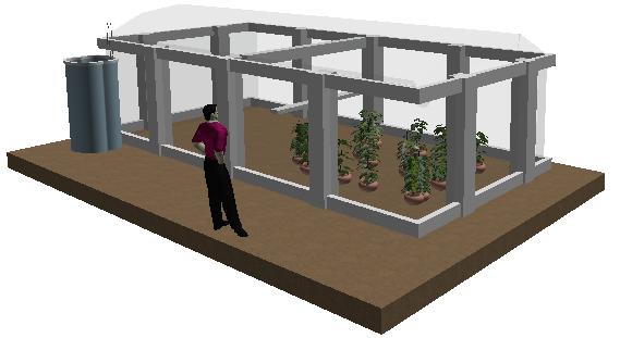 Invernadero hidrop nico comunitario dise o de invernadero Diseno de invernaderos pdf