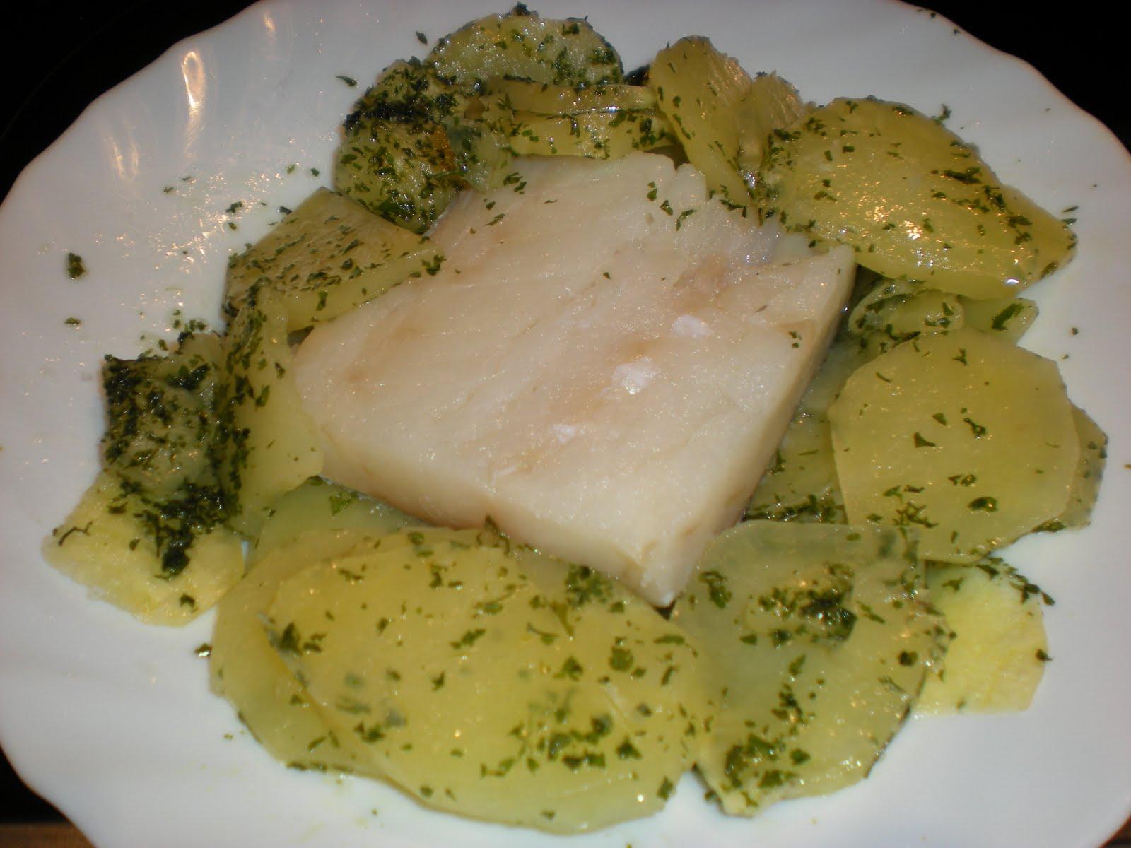 Mis trucos de cocina bacalao con patatas al microondas for Cocina bacalao con patatas