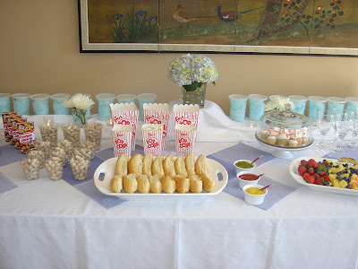 Wedding Couple Shower Ideas on The Menu For This Baseball Baby Shower Was So Fitting  Hot Dogs