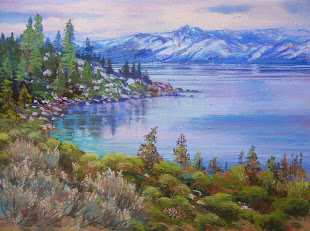 """ A WINTER DAY, LAKE TAHOE """