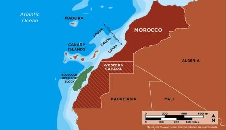 menas borders WSRW anger at Kosmoss Western Sahara exploration