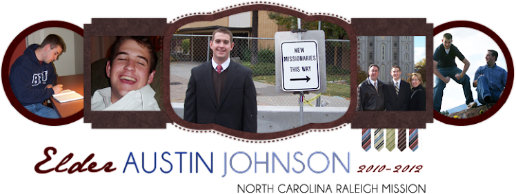 Elder Austin Johnson