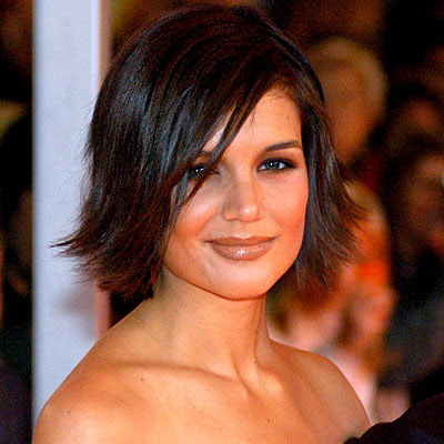 Celebrity Female Short Hairstyle - Katie Holmes