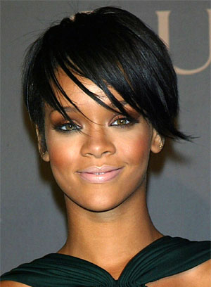 Rihanna Short Layered Crop Haircuts