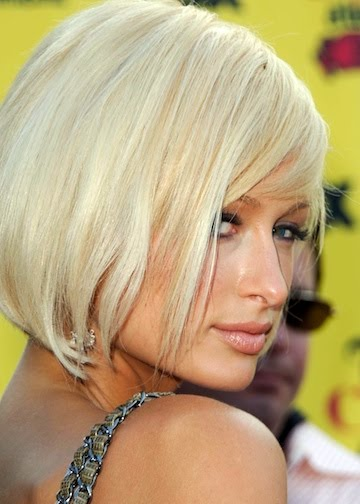 Paris Hilton Blonde Bob Hairstyles. Checkout this fabulous bob hairstyle
