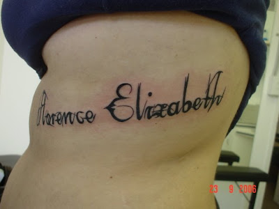 Different Tattoo Lettering
