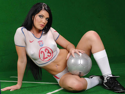 Soccer Body Painting