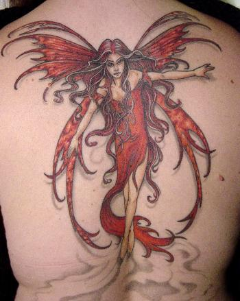 Hottest Fairy Tattoo Designs For Women