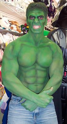 Hulk Body Painting